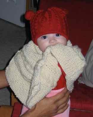Baby-poncho