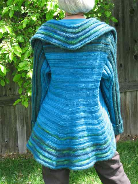 The pattern of Sandra s that I worked is called Strata Sphere. The original  was made in Noro Silk Garden 3a7cc106467