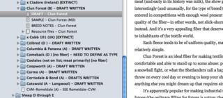10-Scrivener 2-researchClun-draft