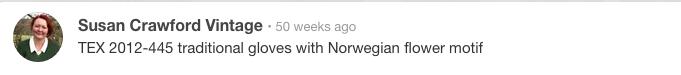 Gloves-Norwegian-motif